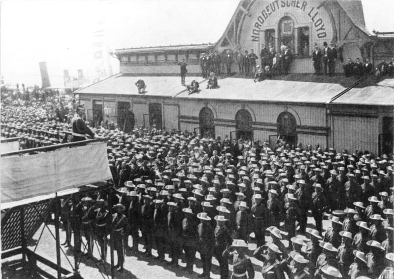 Kaiser Wilhelms Hunnenrede
