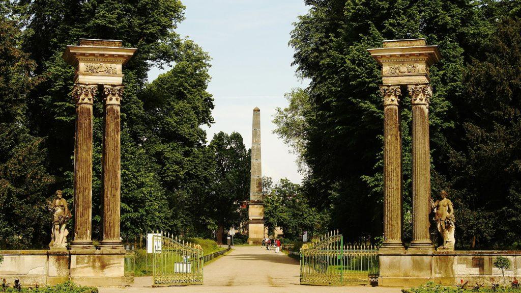 Obelisk Park Sanssouci